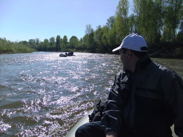 Надувные лодки ПВХ вышли на большую воду