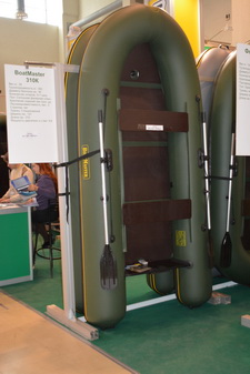 надувная лодка BoatMaster на выставке