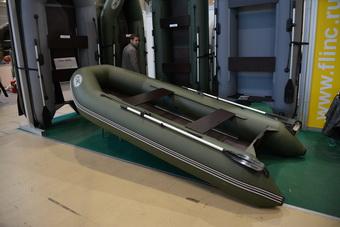 Новейшая модель моторной килевой лодки от компании FLINC