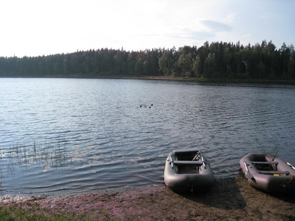 Сплав на надувных лодках Ботмастер 300 и Наутилус по реке Мехреньга Архангельской области