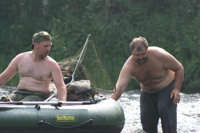 Сплав по реке Мехреньга Архангельской области