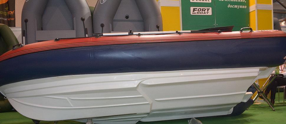 Днище комбинированной лодки РИБ FLINC 450