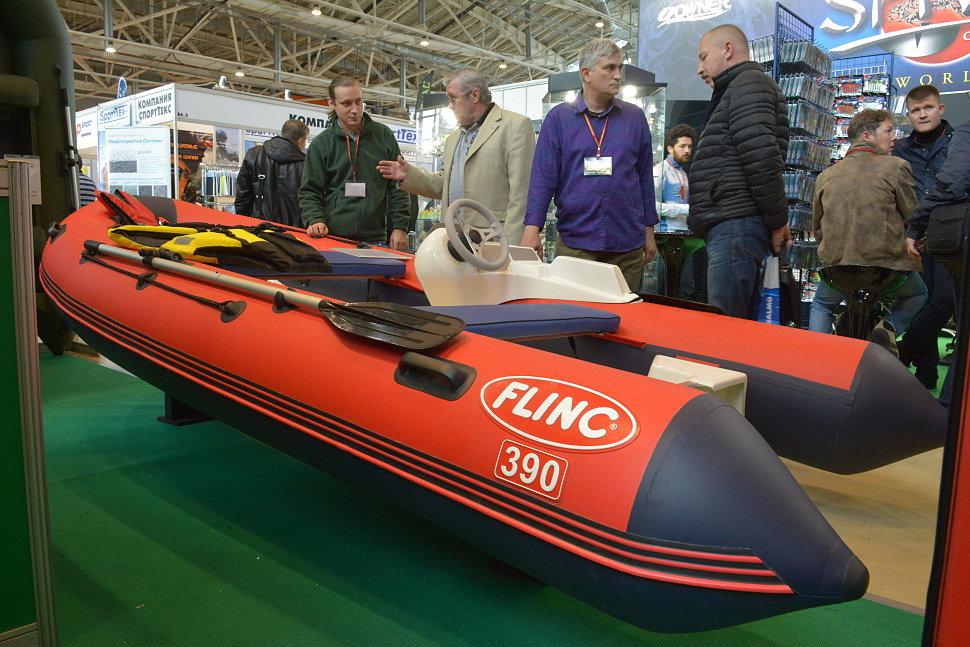 Комбинированная лодка РИБ FLINC 390