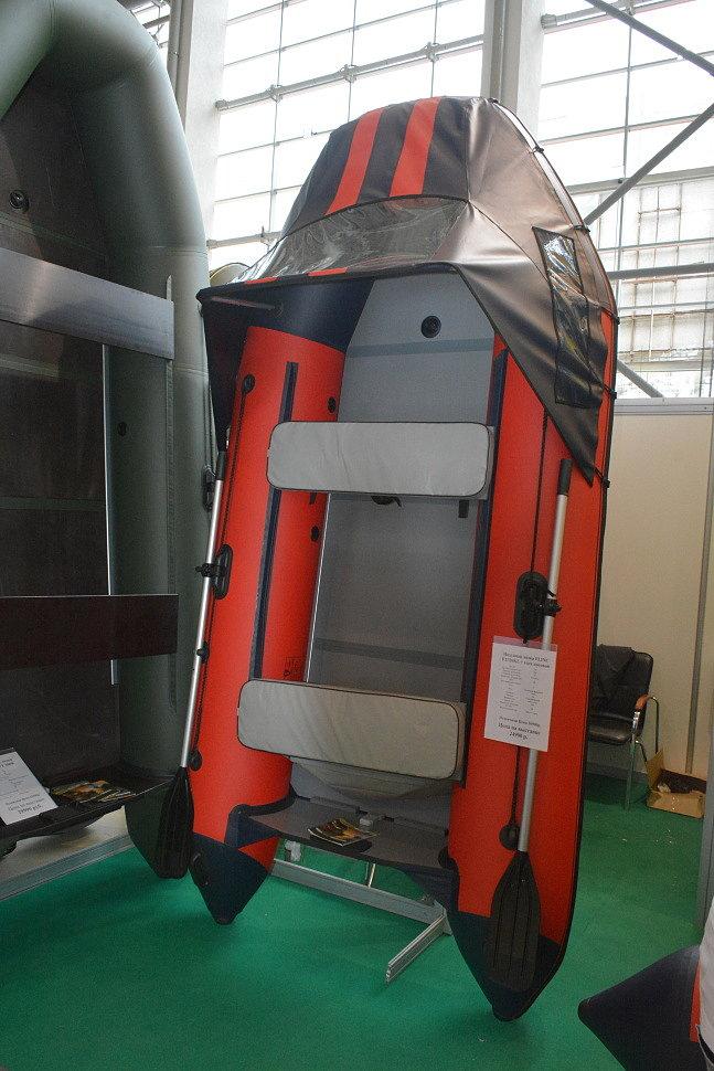 Надувная лодка FLINC FT320KL с тентом новой модификации